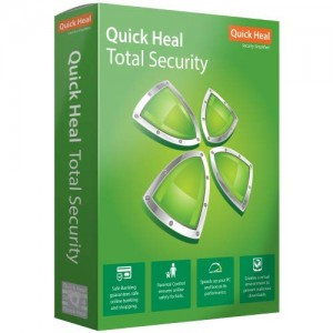 Quick Heal ( Total Security 1 User 1 Year)