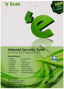 E Scan ( Internet Security 1 User 1 Year )