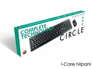 CIRCLE C41 COMBOSET KEYBOARD AND MOUSE USB