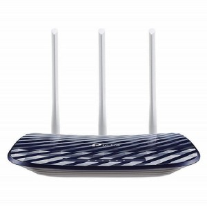 TP-Link AC750 Dual Band Wireless Cable Router, 4 10/100 LAN + 10/100 WAN Ports, Support Guest Network and Parental Control, 750Mbps Speed Wi-Fi, 3 Antennas (Archer C20