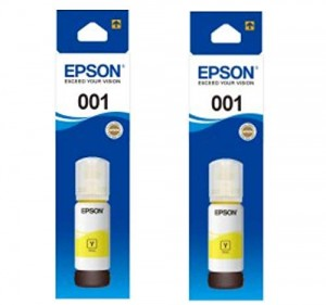 Epson 001 T03Y4 Yellow Ink for (L4150,L4160,L6160,L6170,L6190)