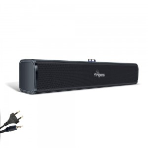 FINGERS P2.0 Computer/Laptop Multimedia 2.0 Stereo Speaker with Power Adapter