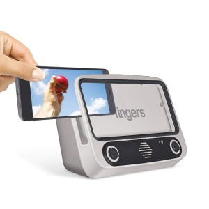 FINGERS My-Own-TV (MOT) Portable Speaker - High Utility Phone Holder/Mobile Stand | Bluetooth Portable Speaker | Retro Radio