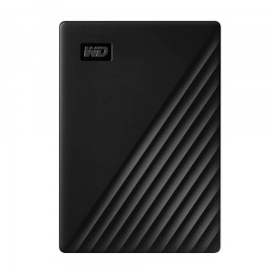Western Digital WD 2TB My Passport Portable External Hard Drive, Black - with Automatic Backup, 256Bit AES Hardware Encryption & Software Protection