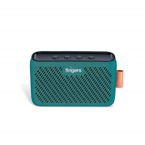 FINGERS Musi-High 10 W Pocket-Sized Bluetooth Speaker with Sensational Sound & 15 Hours Playback time (Bluetooth | FM Radio | USB | AUX)